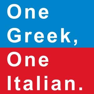 One-Greek,-One-Italian